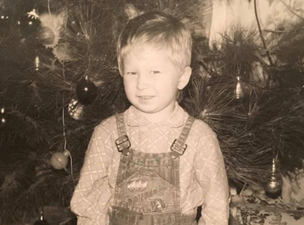 Евгений Жарков в детстве